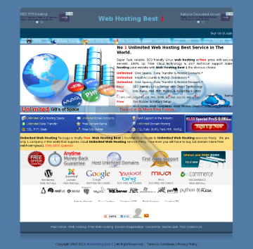 1 Web 12 Best Months Hosting preview. Click for more details