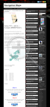 2014 Dvd Mmm/p2001 – Full Navigationdvdb Rti Europe Volvo Version preview. Click for more details