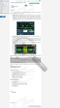 Api Net Edition Sound For Studio Commercial Audio preview. Click for more details