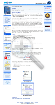 Default Version Printer Full preview. Click for more details