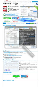 File 5 Encrypt Full Version Batch preview. Click for more details