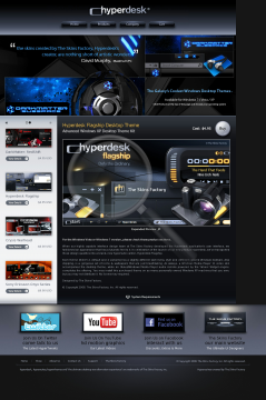 Flagship Hyperdesk Theme Xp preview. Click for more details