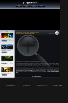 Flare Solar Theme Xp Darkmatter: preview. Click for more details