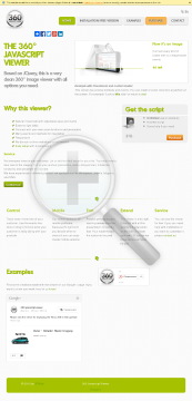 Javascript Viewer 360 preview. Click for more details