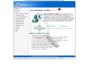 Monitor Sniffer Full Chat Msn Version & preview. Click for more details