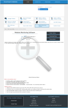 Monitoring Tool Website Version Full preview. Click for more details