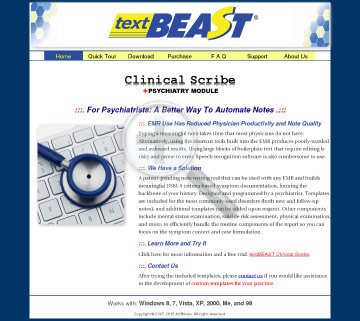 One Textbeast Standard preview. Click for more details