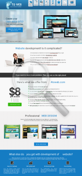 Standart Builder Easy Website 4toweb preview. Click for more details