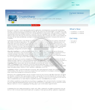 Team Security Library Cryptosharp preview. Click for more details