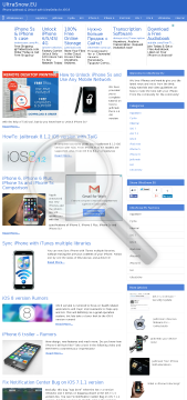 Ultrasnow 4 Kit Iphone Eu Unlock preview. Click for more details