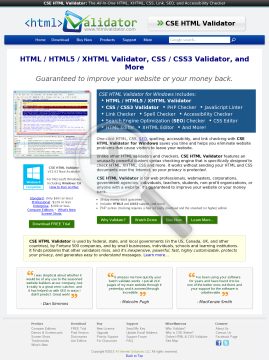 Version Html Cse Standard Full Validator preview. Click for more details