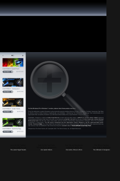Vista Darkmatter: Subspace Theme preview. Click for more details