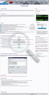 Web No Support Home License Generator Traffic preview. Click for more details
