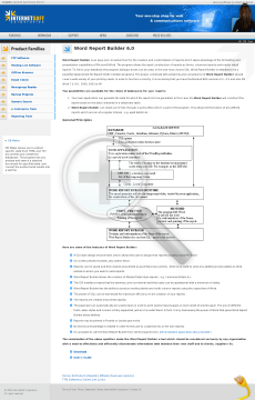 Word Version Report Builder Full preview. Click for more details